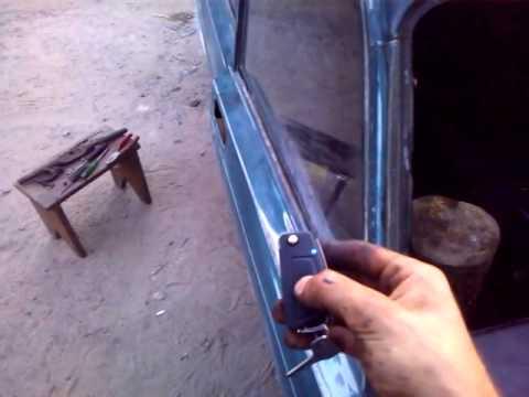 Доработка ручек замков на ваз 2107 видео