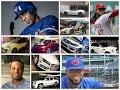 Autos de los peloteros Dominicanos