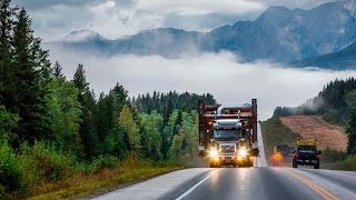 Volvo Trucks – Hauling deep into the Canadian wilderness – Drivers' World