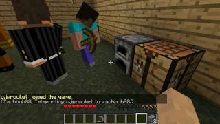 Minecraft Playing Till The End- Episode 2(Lorenzo Farts On YouTube)