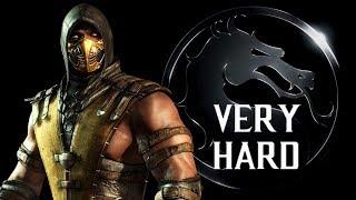 Mortal Kombat X - Scorpion (Inferno) Klassic Tower (VERY HARD) NO MATCHES LOST