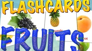 FRUITS FOR KIDS, learn fruits ,Glenn Doman educational video for kids and Childs