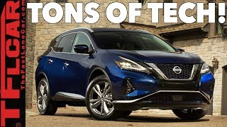 2019 Nissan Murano: New Looks and More Tech & Safety Than Ever!