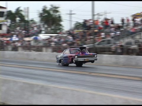 GOT BOOST? Insane Blown Chevy ll (original footage)
