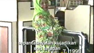 Nyanyian Rindu Buat Ibu with lyrics & English subtitles