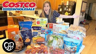 Costco Grocery Haul | Shopping for Costco Snacks | PHILLIPS FamBam Costco Haul