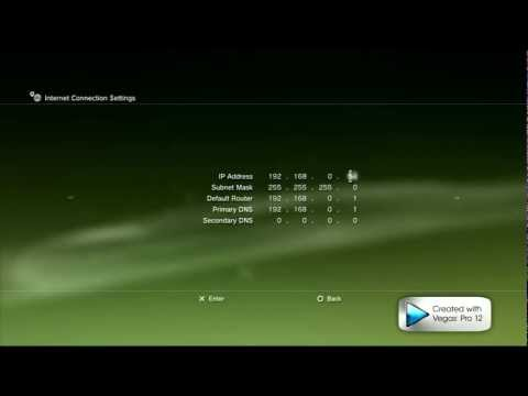 How to change your NAT TYPE to OPEN  - EASY Tutorial ps3 / xbox360