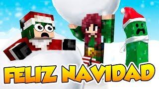 ¡FELIZ NAVIDAD! - Minecraft minijuegos Navideños con @Naishys