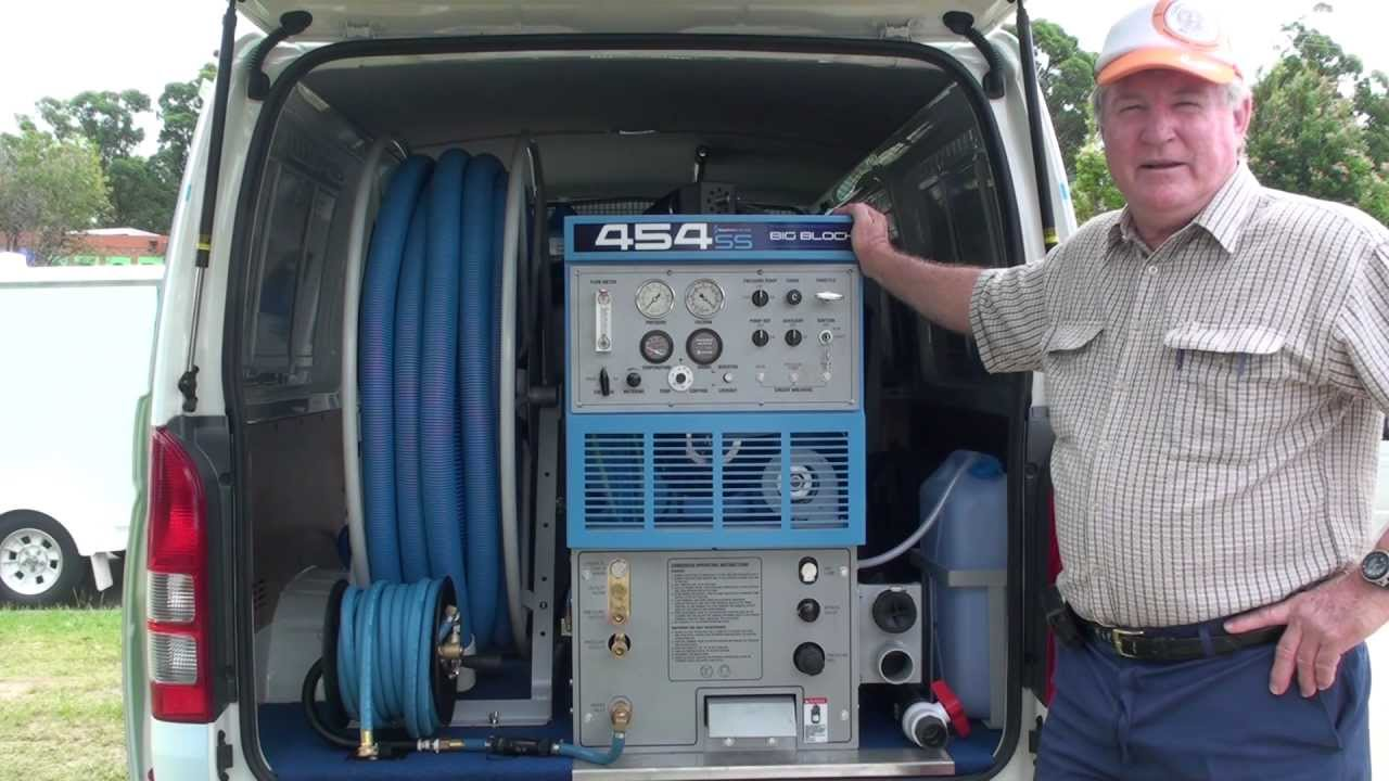 Carpet Cleaning Machine Sapphire Scientific Truckmount