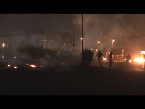 Bloody clashes with the Formula 1 race in Bahrain - Sitra - April 17, 2015