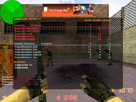 f0rest vs. Frag eXecutors @GameGune 2010 (de_train)