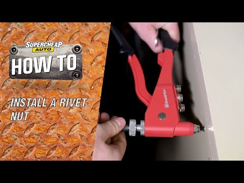 How to Install a Rivet Nut / ToolPRO Rivetnut Tool