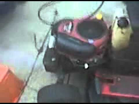 17.5 HP Briggs & Stratton Intek ohv ic start up after i got the new cam in l