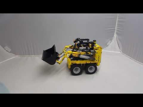 lego Skid steer loader/山貓推土機