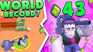 WORLD RECORD in BRAWL STARS!? Frank has 43 Power Cubes!!!!