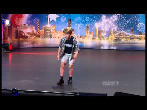 Australias Got Talent 2011 Episode 2 - Ky Baldwin 'Tap Dancer'