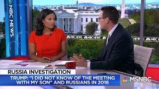 2018 07 27 MSNBC Trump, Cohen, Mueller Investigation, with Kristen Welker, Danny Cevallos