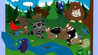Animals Forest movie funny educational videos for kids English