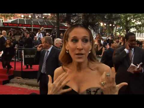 SJP at the Sex and the City 2 premiere in London