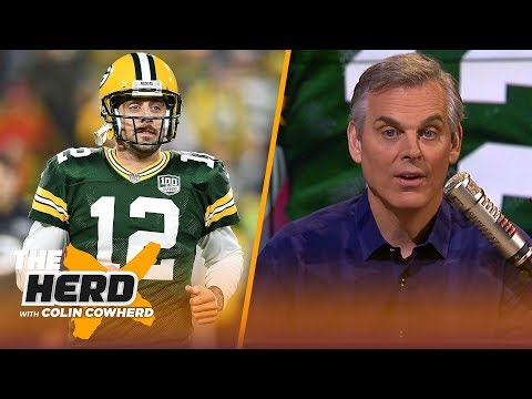 Colin Cowherd on Green Bay's MNF win over S.F, Brady vs Rodgers | NFL | THE HERD