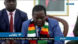 Mnangagwa listens to challenges facing Zimbabwe women