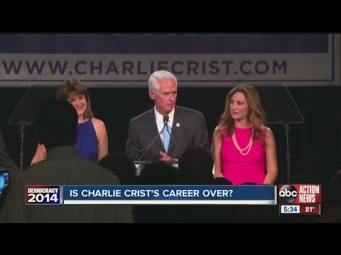 Is Charlie Crist's career over?