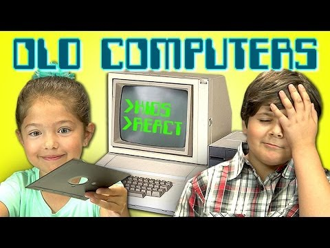 Kids React To Old Computers video