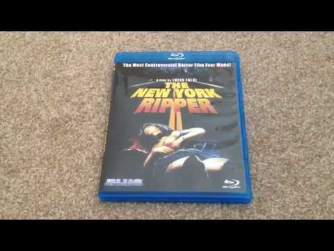 The new york ripper Blu-ray unboxing