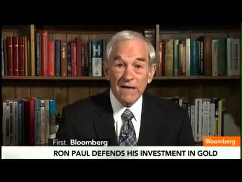 Powerful Interview with Ron Paul on Gold: &quot;I'm Buying&quot;