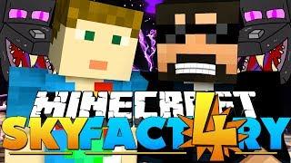 Minecraft: SkyFactory 4 - AUTO ENDER DRAGON FARM?! [27]