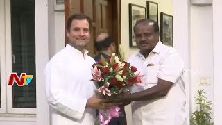 HD Kumaraswamy Invites Rahul and Sonia Gandhi For His Swearing-In Ceremony