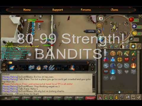 Runescape EOC 1-99 Strength Guide (My Way)