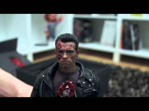 Hot Toys T-800 unboxing (DX-13)