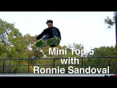 Crailtap's Mini Top 5 with Ronnie Sandoval