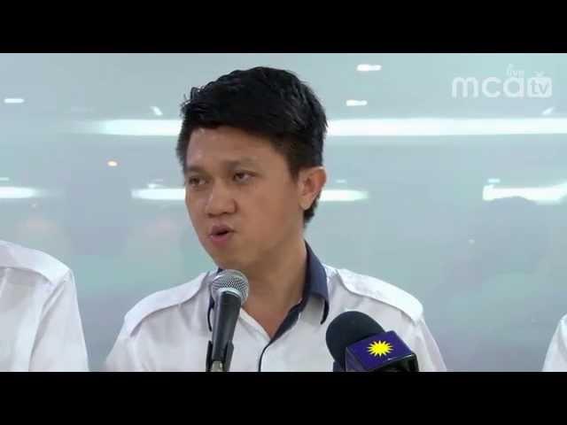马青促加紧国政青年团联系,迎战来届大选
