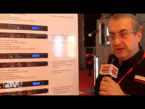 ISE 2016: Calibre UK Ltd Details LEDView730 4K LED Screen Scaler-Switcher