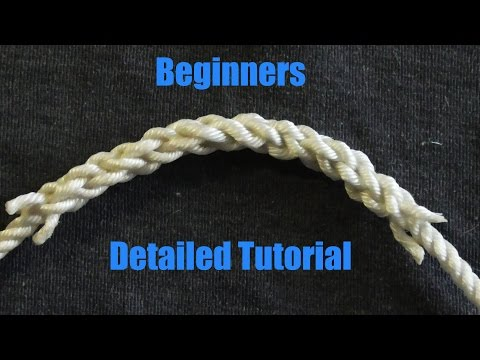 3 strand eye splice instructions