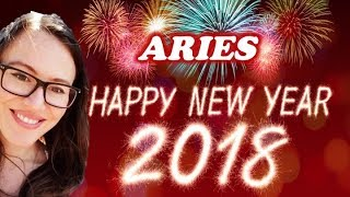 ARIES January 2018 Horoscope. MANIFESTING Powerfully in 2 Areas of LIFE!