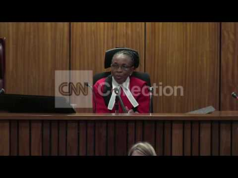 SOUTH AFRICA: PISTORIUS TRIAL OPENS (THURSDAY)