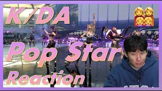 [Reaction] K/DA - Pop Star M/V & Performance Reaction | Why am I falling in love with virtual...