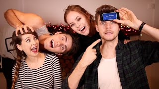 PLAYING HEADS UP WITH ZOE, ALFIE & TANYA!