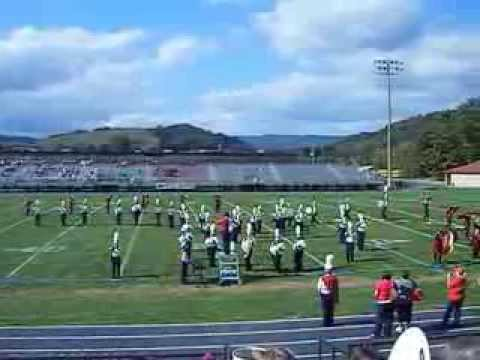 Marion Senior High School performing at Chilhowie Apple Festival 2013