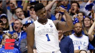 Too much Zion Williamson, RJ Barrett in Duke win vs. No. 4 Virginia | College Basketball Highlights