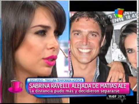 Sabrina Ravelli llora por Matías Alé mientras él disfruta de unas vacaciones de soltero