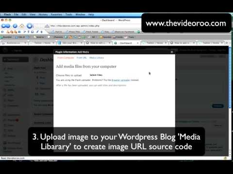 Aweber - How to add video to email and send viral re-tweets on Twitter.