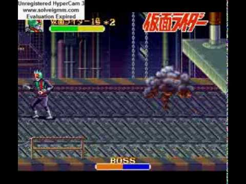Kamen Rider - Longplay: Kamen Rider (SFC) - User video