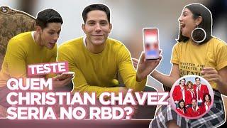 CHRISTIAN CHÁVEZ RESPONDE: TESTE DO RBD, NUDES, PABLLO VITTAR, ELE NÃO... | Foquinha