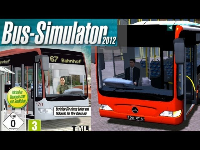 Bus Simulator - 2012 (European Bus Simulator) Tutorial Gameplay Review HD