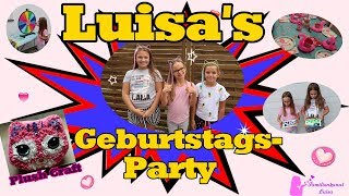 Luisa's Geburtagsparty | Plush Craft Cat (Kissen)