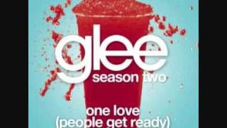 Watch Glee Cast One Love people Get Ready video